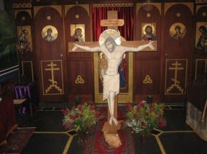 Die Kruis is tydens die Twaalf Evangeliesdiens uitgedra